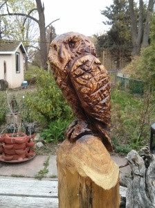 Chainsaw owl, 2014