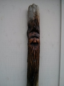 Wood spirit, 2014