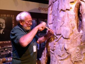 Bill Myette at the Ontario Science Centre